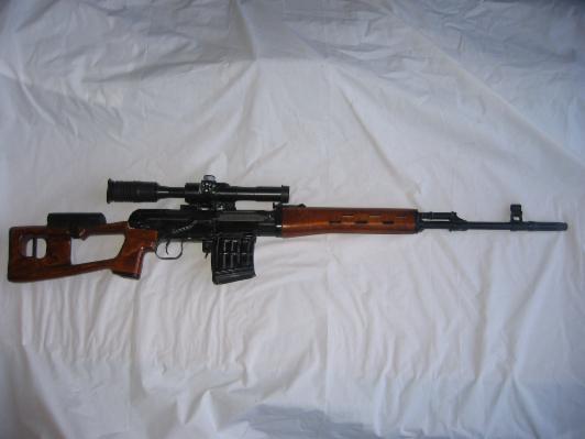 Russian SVD Tiger rifle
