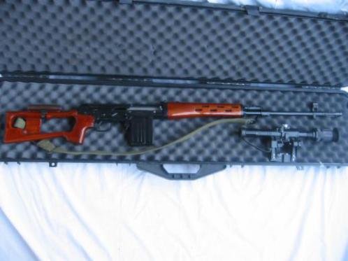 Norinco NDM rifle in 7.62x51 in case