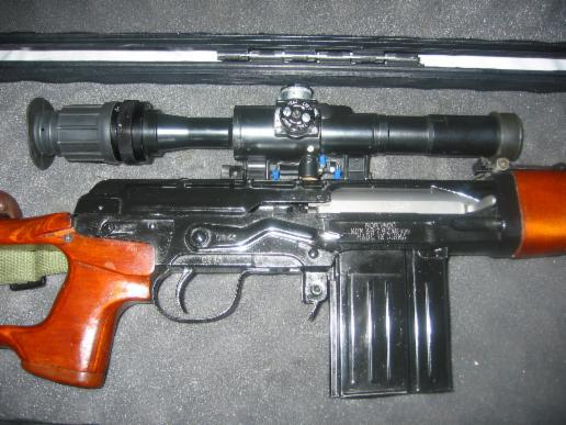 Norinco NDM-86 rifle in 7.62x51 side of receiver and scope